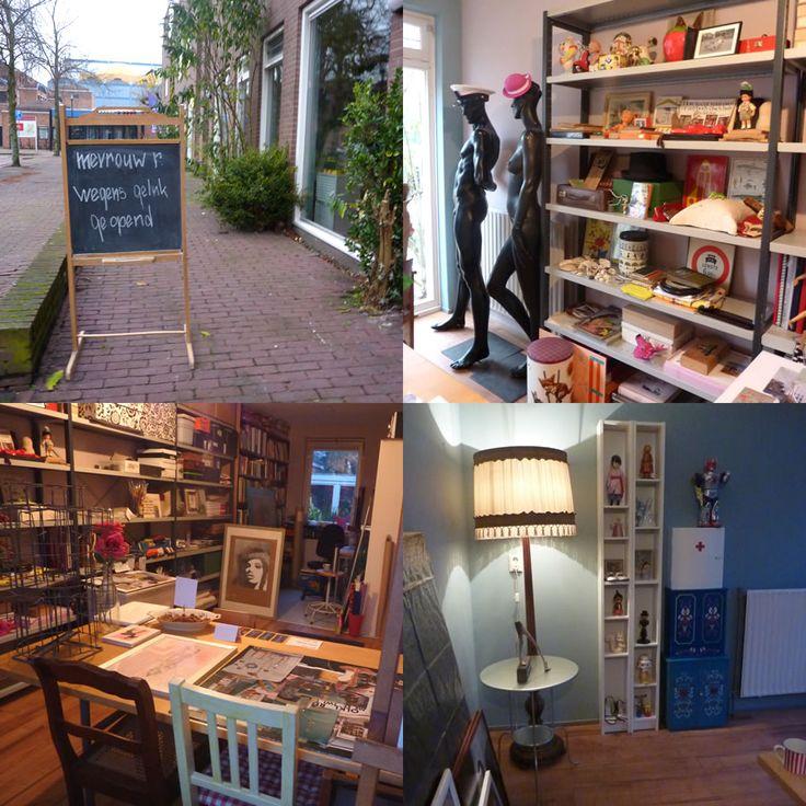 Wegens geluk geopend Atelier Mevrouw R.