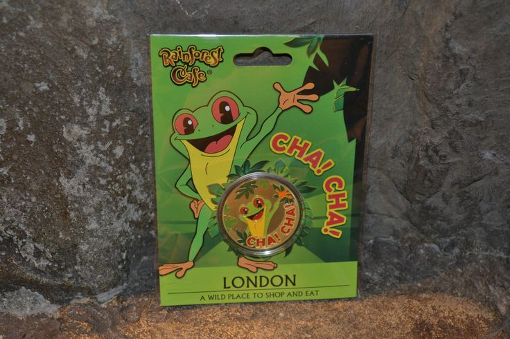 One of our most popular souvenir items... the Cha Cha coin!
