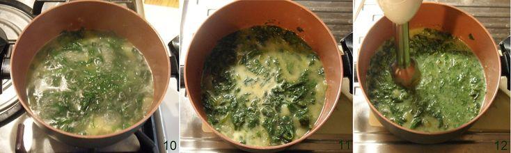 Crema di spinaci con cialde al parmigiano ricetta invernale il chicco di mais 4