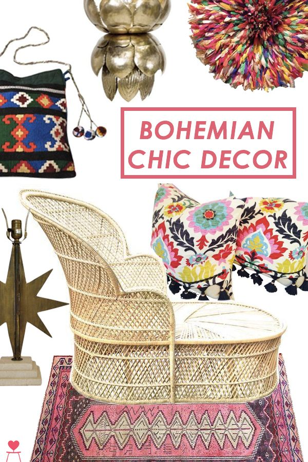 Vintage Driftwood: Channel your inner free spirit with brazen patterns, eye-catching textiles and far-flung inspirations. Find the perfect boho chic piece for your global-inspired room on Chairish.