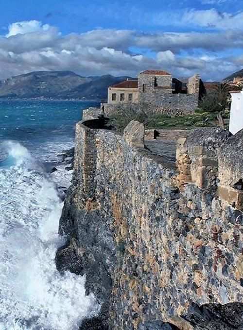 Monemvasia, Peloponnese, Greece #britairtrans