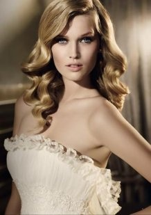 Peinados y tocados de novia