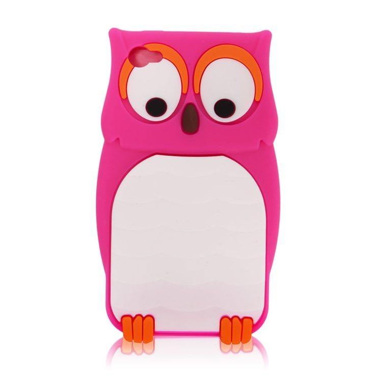Owl Phone Case! This just so happens to be one of the two owl phone cases that I got for Christmas!