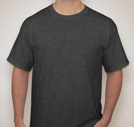 EnjoytheSpirit 100 Cotton T-shirt Heather Gray Dark Grey Sport Grey Digital Print Plain T Shirt T-Shirt Men Custom Logo Printing #Affiliate