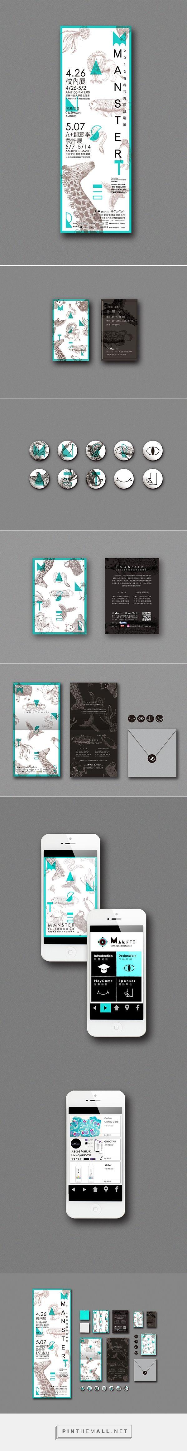 Manster Exhibition Branding by Erica Su