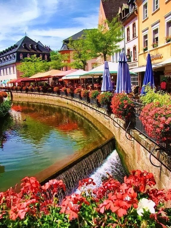 Strasbourg, France.  A beautiful city right on the border between France and Germany.  I believe this is where my Father's family originated.