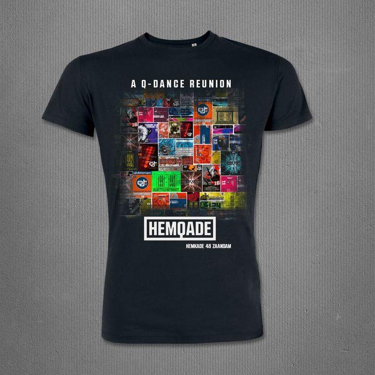 HEMQADE 2014 T-SHIRT BLACK, MEN | Q-dance Store