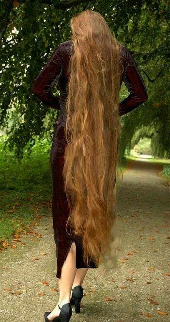 Knee Length Long Hair Long Hair Styles Hair Long