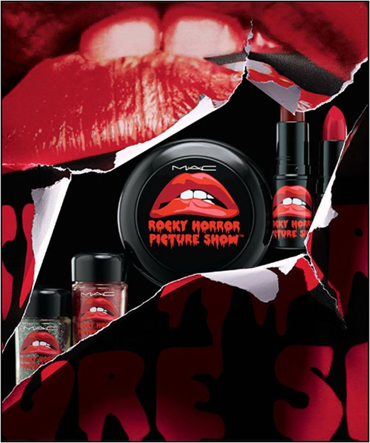 MAC Rocky Horror Picture Show Collection - Fall 2014. Need them all!