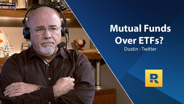 Dave Ramsey Recommends Mutual Funds Over Etfs Dave Daveramsey Etfs Funds Mutual Ramsey Recommends Lost My Job Dave Ramsey Tax Refund