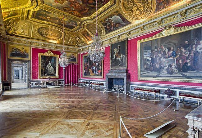 E Salon Des Mars Im Westfl 252 Gel Schloss Versailles