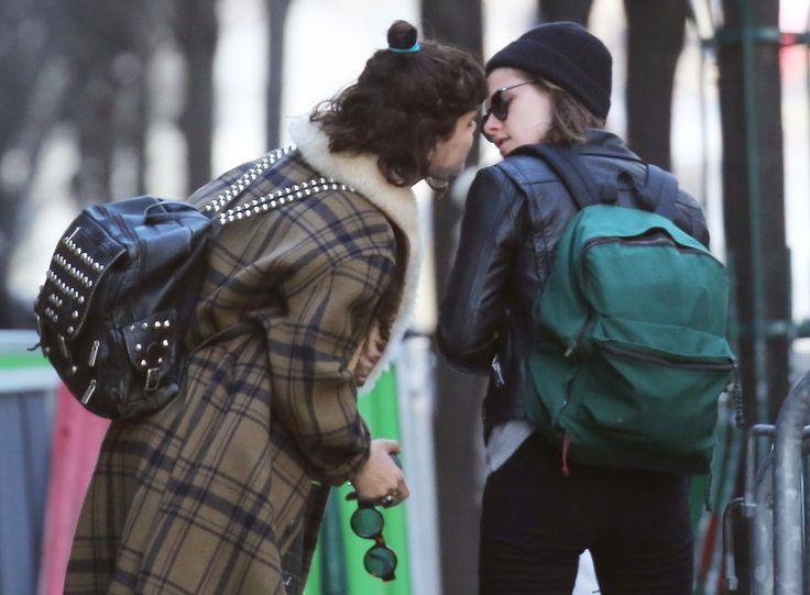 Kristen Stewart and Soko Share a Sweet Kiss During Their Parisian Getaway