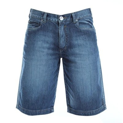 Bermuda Wg Jeans Bordado Logo R$110.60A Mini-Saia Jeans, Wg Jeans,  Blue Jeans, Jeans Bordado