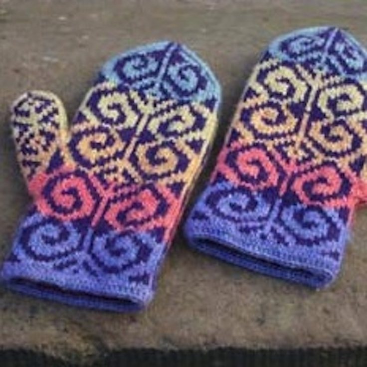 72 best Fair Isle Knitting images on Pinterest | Backpacks ...