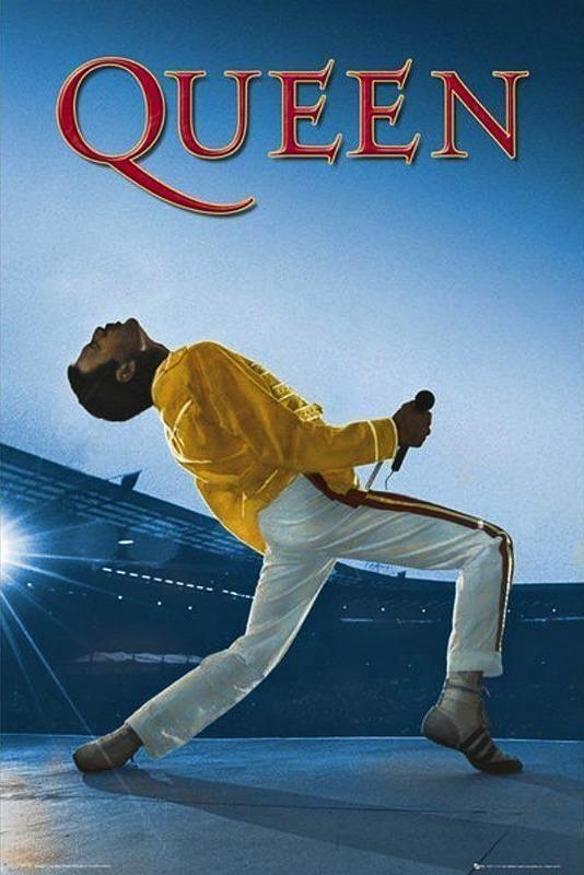 Queen : Wembley - Maxi Poster 61cm x 91.5cm (new & sealed)