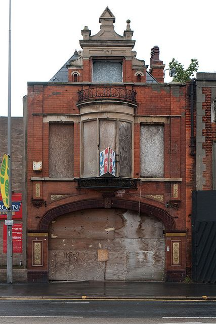 Kingston upon Hull, England Might not Look like much but this is the last civillan bomb site in the UK from WW2
