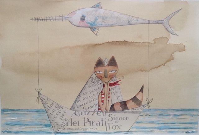 """Art and Craft Ideas: Letture sotto l'ombrellone: """"Il Pesce Aquilone"""""""