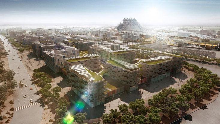 Генеральный план EXPO 2020 в Дубаи-1