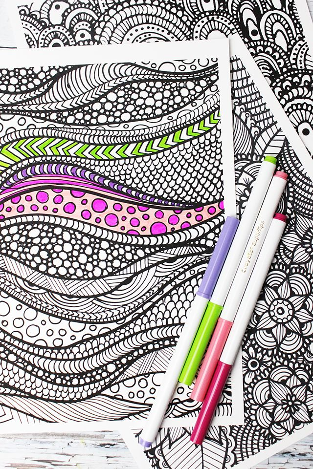 alisaburke: new coloring pages in the shop! plus a link to a free Mandala to color.