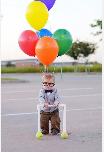 perhaps the cutest thing ever. Carl from Up!