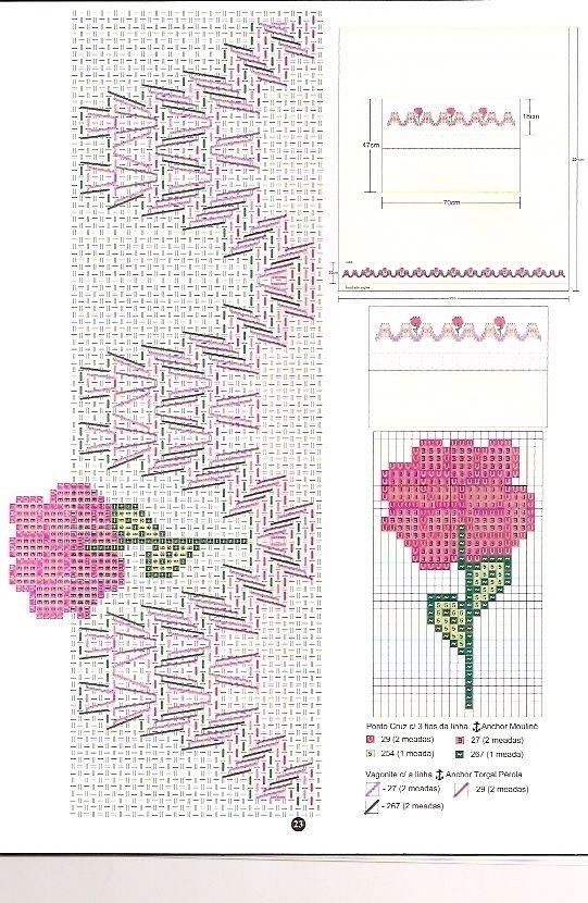 Bordado em Vagonite Geométrico - Rosilda Maria - Picasa Web Albümleri