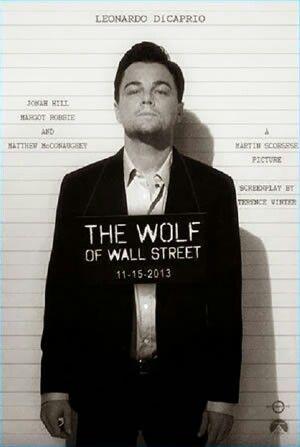 Leonardo Di Caprio,The Wolf of Wall Street,
