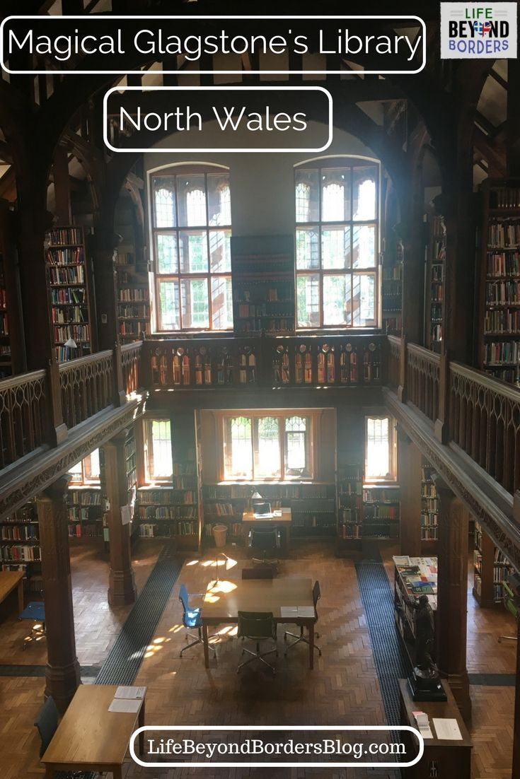 Gladstone's Library in North Wales is the only residential library in the UK - built to honour four times British Prime Minister William Gladstone. Read all about what it's like to stay here.