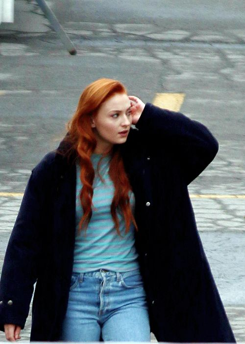 First look at Sophie Turner as Jean Grey on X-Men: Apocalypse