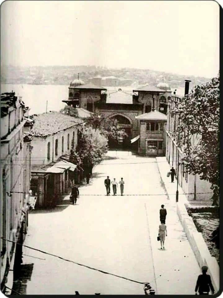 Beşiktaş iskele 1950ler.