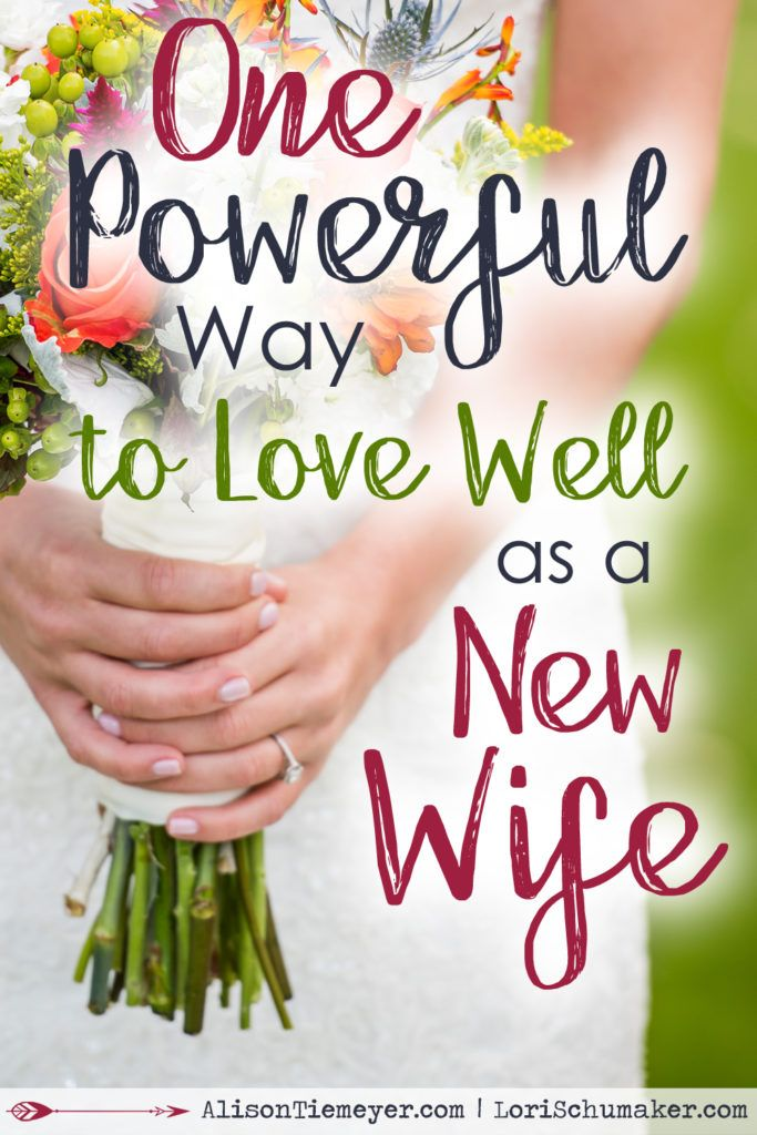 As a new wife, you have entered a season of brand new. Of transition and…