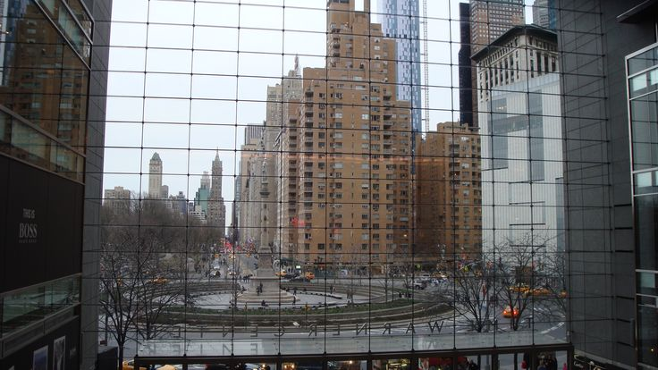 Columbus Circle seen from Times Warner Center
