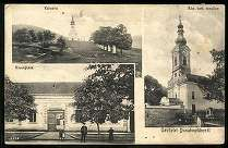 Dunabogdány Kálvária. Községháza. Római katolikus templom