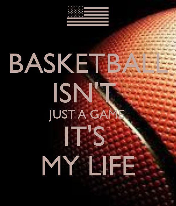 Ball Is Life Basketball Quotes Basketball Games Basketball