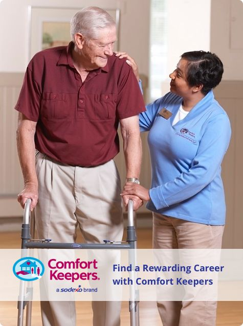 A look at what positions are available as a Comfort Keeper and what responsibilities and tasks they involve.