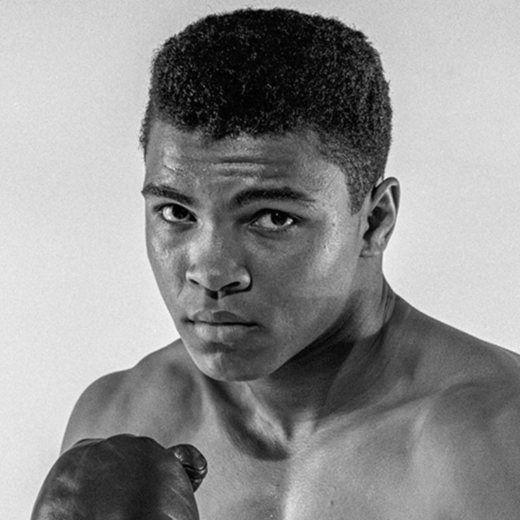 Cassius Marcellus Clay Jr. January 17, 1942 Louisville, Kentucky, U.S. Died	June 3, 2016 (aged 74) Scottsdale, Arizona, U.S. Heavyweight Height	6 ft 3 in (191 cm)[7] Reach	78 in (198 cm)[7] Stance	Orthodox Boxing record Total fights: 61 Wins: 56 Wins by KO: 37 Losses: 	5 Medal record Men's amateur boxing Representing  United States Olympic Games Gold medal – first place 1960 Rome	Light heavyweight