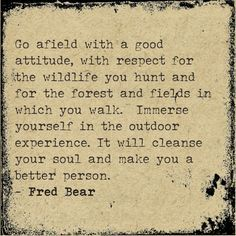 fred bear quotes - Google Search