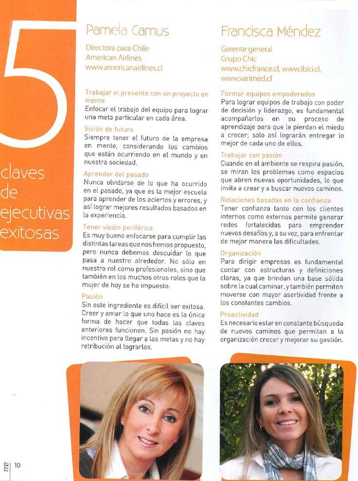 Revista Mujeres Empresarias