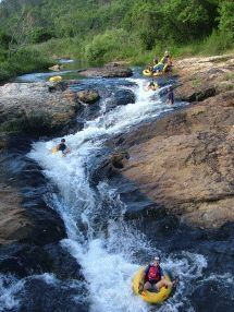 Tubing with Magoebaskloof Adventures in South Africa