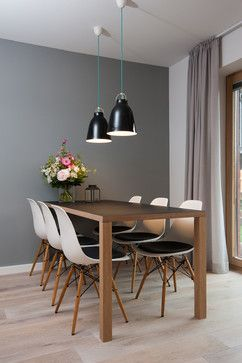 Sylt Lofts - Scandinavian - Dining Room - other metro - by Volquardsen Architekten Partnerschaft