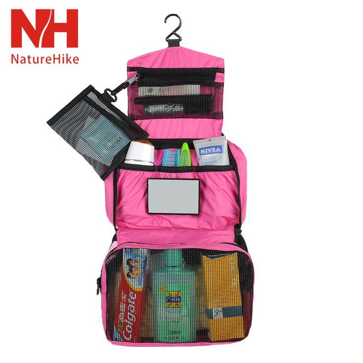На природе личная гигиена важна вдвойне. Соберите все средства для личной гигиены в удобную и компактную сумку!