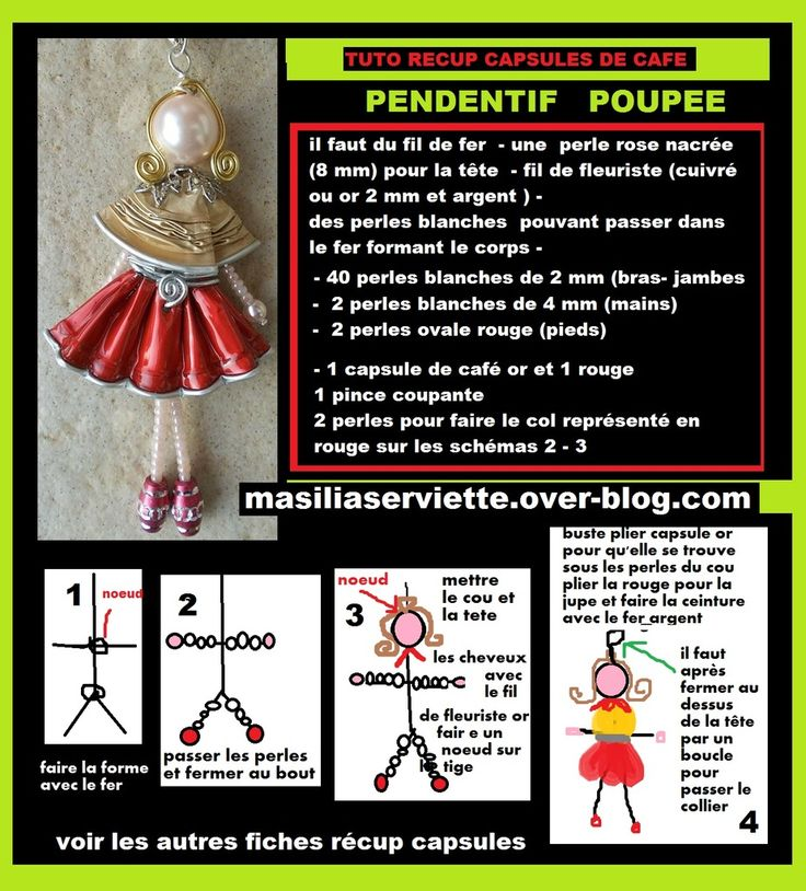 doll/angel/ange/diy ball nespresso/noel/christmas ornement/boule /polystyrène/suspension pour sapin/bijoux/ring/boucle…