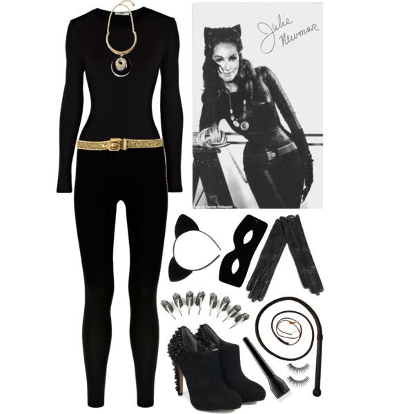 Crafty Lady Abby - COSTUME: Me-ow!  Catwoman classic costume