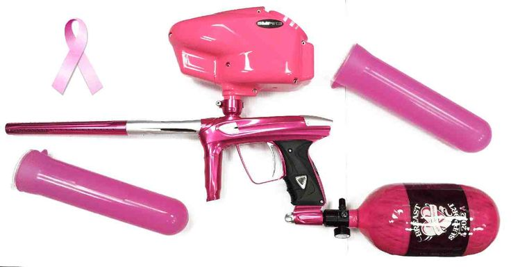 Pink Paintball Gear