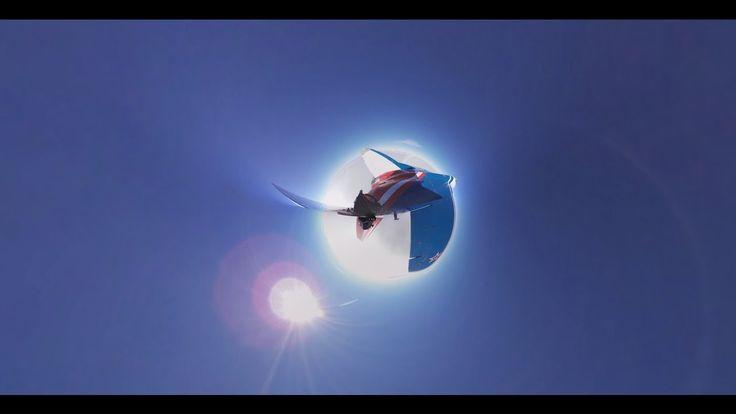 Верхом на истребителе в стратосферу: уникальная панорамная съёмка с МиГ-29