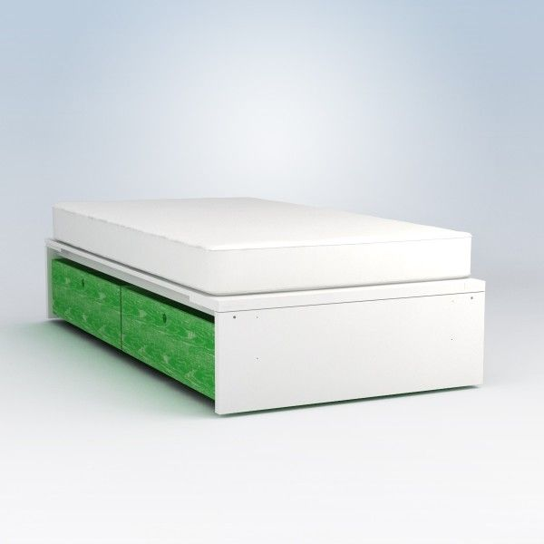 Ducduc Alex Symmetric Platform Bed