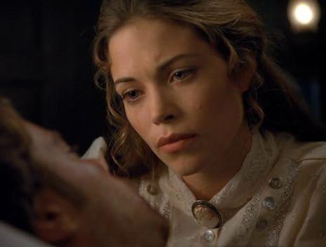 Amelia Heinle in Purgatory Movie