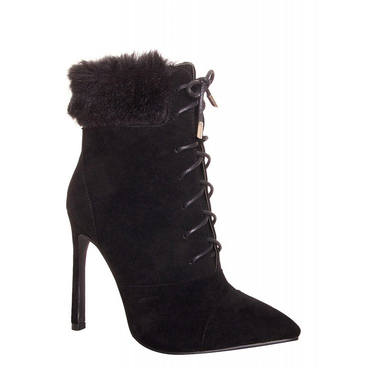 1000  ideas about Fur Ankle Boots on Pinterest | Sexy boots Sexy