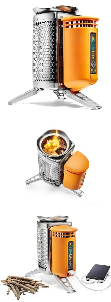 The BioLite Camp Stove #Travel #Stove #Camping Available on Amazon for about $130.00