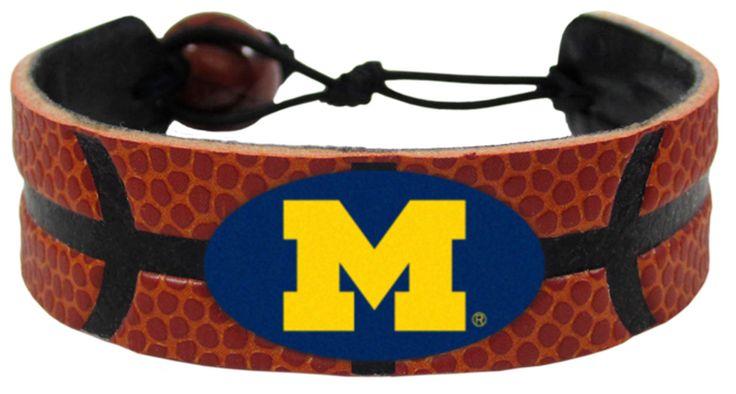 Michigan Wolverines Basketball Bracelet