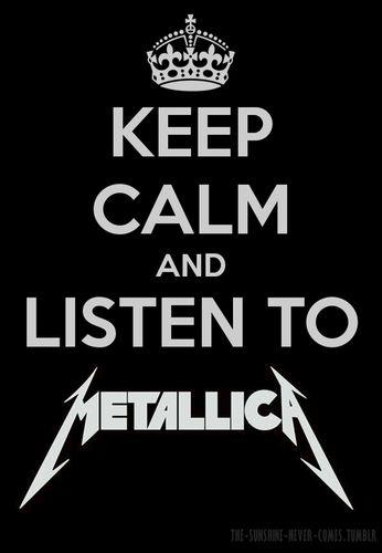 Keep Calm - Heavy Metal Photo (33094307) - Fanpop fanclubs